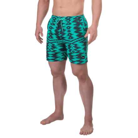 Imperial Motion Uzi Boardshorts (For Men) in Mint - Closeouts