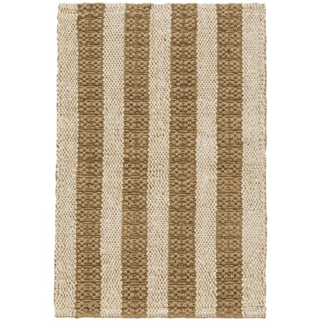 Imports Décor Imports Decor Natural Stripes Jute Scatter Accent Rug - 2x3' in Natural