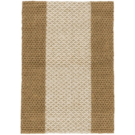 Imports Décor Imports Decor Wide-Stripe Jute Scatter Accent Rug - 2x3' in Natural