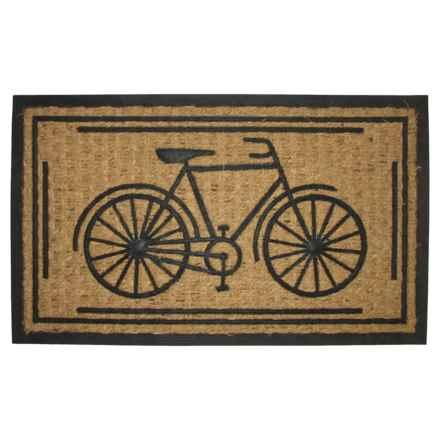 "Imports Decor Bike Doormat - 18x30"" in Bike - Closeouts"