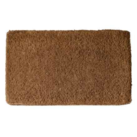 "Imports Decor Plain Coir Doormat - 22x36"" in Plain - Closeouts"