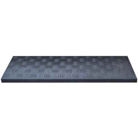 "Imports Decor Stair Mat - 9x30"" in Criss Cross - Closeouts"