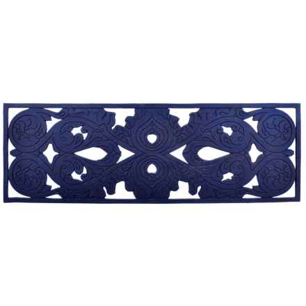 "Imports Decor Stair Mat - 9x30"" in Scroll - Closeouts"