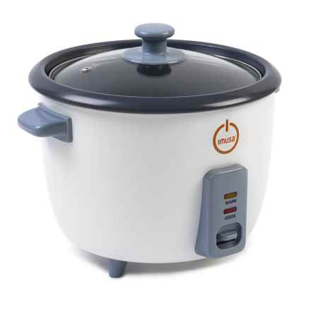 IMUSA Electric Rice Cooker - 5-Cup in White - Closeouts