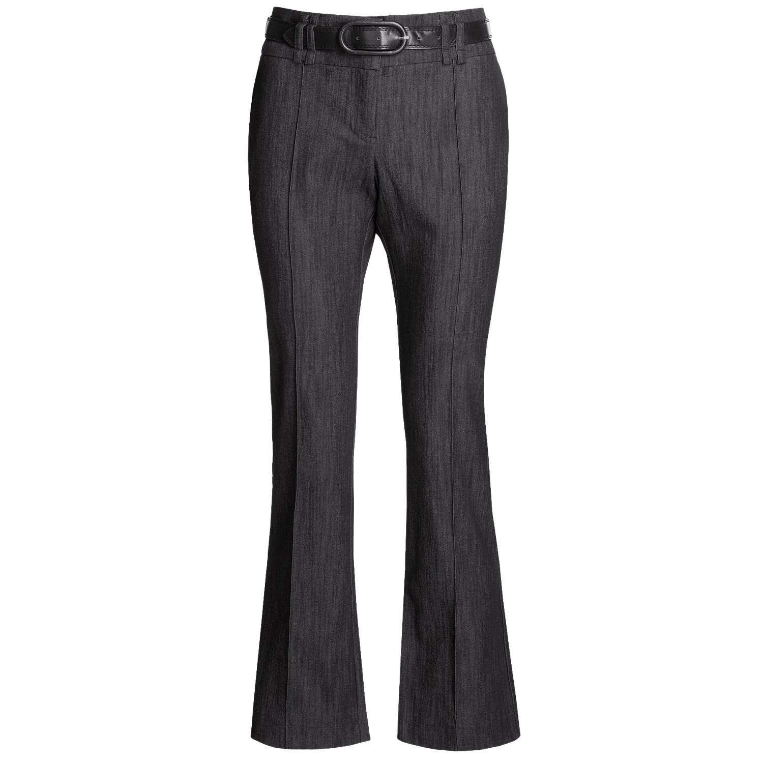 womens black eating place pants