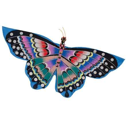 In the Breeze Bali Butterfly Kite in Blue - Closeouts