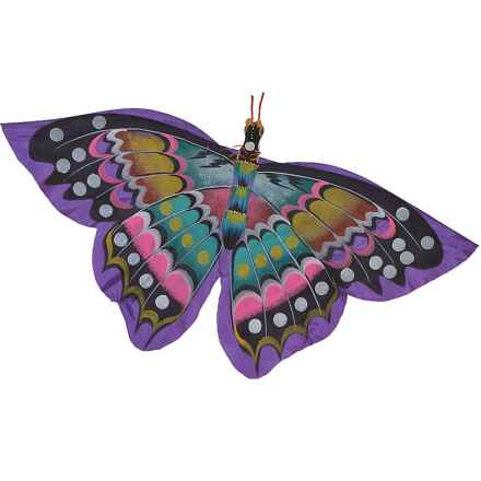 In the Breeze Bali Butterfly Kite in Purple - Closeouts