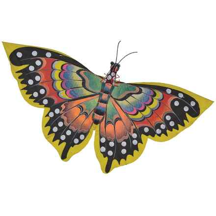 In the Breeze Bali Butterfly Kite in Yellow - Closeouts