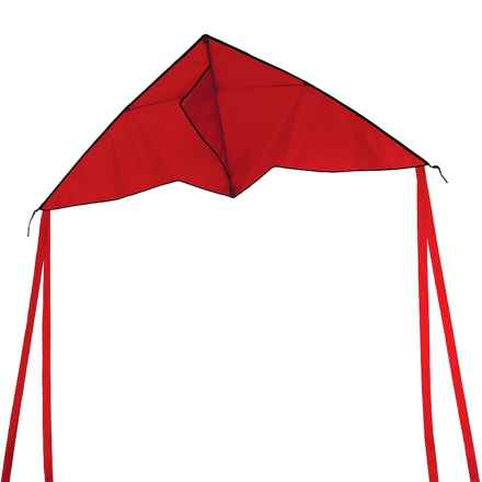 "In the Breeze Delta Colorfly Kite - 56x22"" in Red - Closeouts"