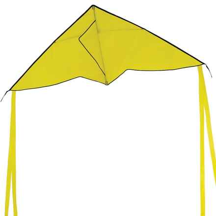 "In the Breeze Delta Colorfly Kite - 56x22"" in Yellow - Closeouts"