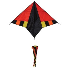 In the Breeze Delta Hot Wind Kite with Windsock in Hot Wind - Closeouts