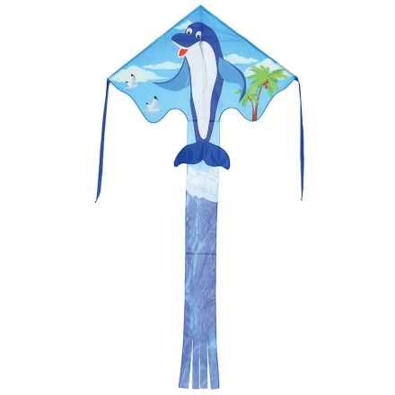 "In the Breeze Fly-Hi Kite - 48x96"" in Dolphin - Closeouts"