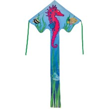In the Breeze Fly-Hi Kite in Seahorse - Closeouts