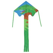 In the Breeze Fly-Hi Kite in T-Rex - Closeouts