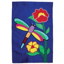 "In the Breeze House Banner Flag - 28x40"" in Dragonfly - Closeouts"