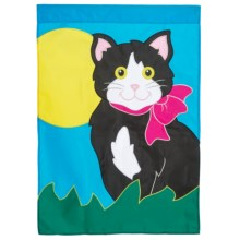"In the Breeze House Banner Flag - 28x40"" in Kitty Kat - Closeouts"