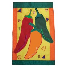 """In the Breeze House Banner Flag - 28x40"""" in Pepper Fiesta - Closeouts"""