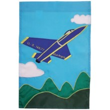 "In the Breeze House Banner Flag - 28x40"" in Blue Angels - Closeouts"