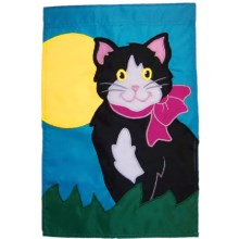 """In the Breeze House Banner Flag - 28x40"""" in Kitty Kat - Closeouts"""