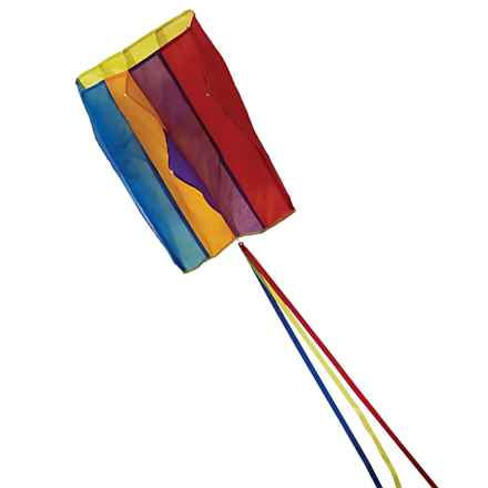 In the Breeze Pouch Parafoil Kite in Rainbow - Closeouts
