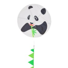 In the Breeze Round Kite in Panda - Closeouts