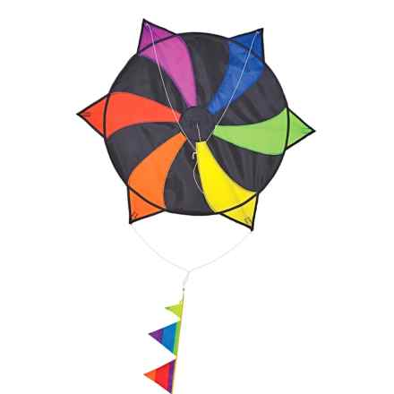"In the Breeze Spikey Ball Kite - 27x30"" in Rainbow - Closeouts"