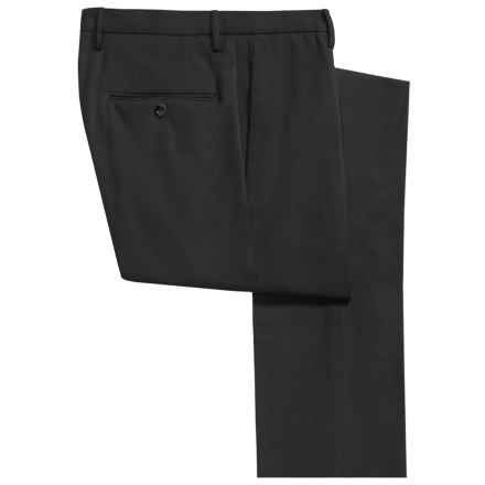 Incotex Scott Comfort Cotton Dress Pants - Slim Fit (For Men) in Olive Green - Closeouts