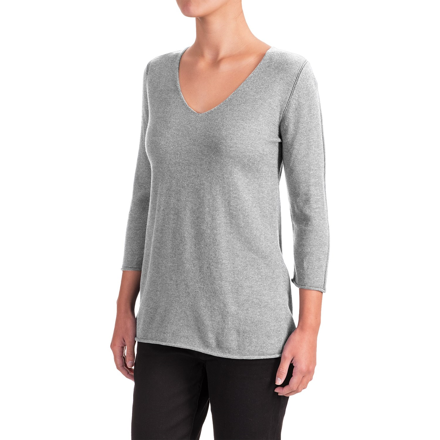 Indigenous Pointelle Sweater (For Women) - Save 58%