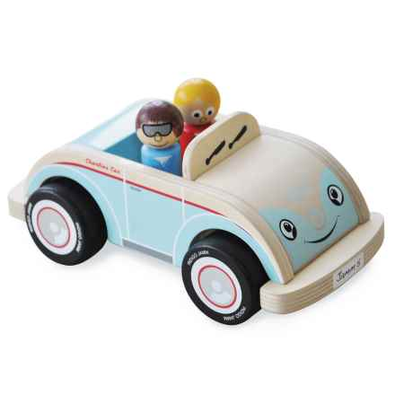 indigo Jamm Charlie's Car Toy in Aqua/White - Closeouts
