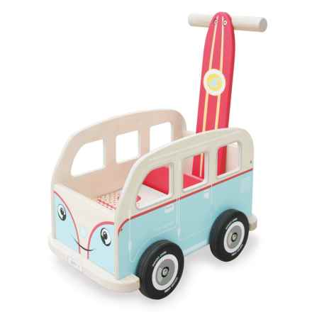 indigo Jamm Colin Walkervan Wood Toy in Aqua - Closeouts