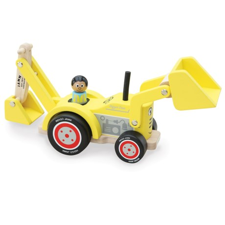 indigo Jamm Digger Dave Wood Toy in Yellow