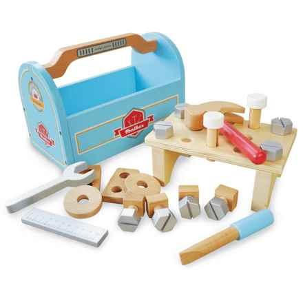 indigo Jamm Little Carpenters Tool Box Set in Blue/Red - Closeouts