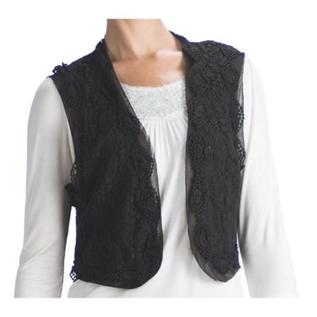 Indira Crocket Vest (For Women) in Black