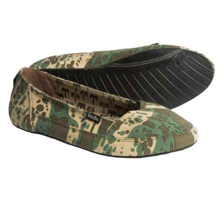 Indosole Kelapa Espadrilles (For Women) in Camo - 2nds