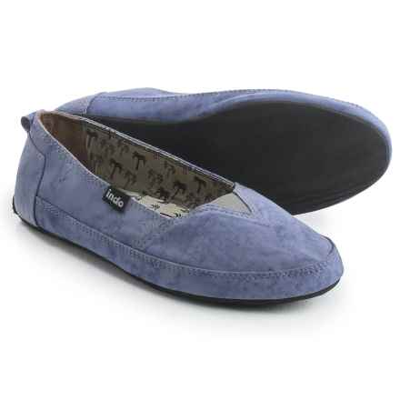 Indosole Kelapa Espadrilles (For Women) in Lavender - 2nds