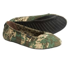 Indosole Kelapa Shoes - Slip-Ons (For Women) in Camo - 2nds