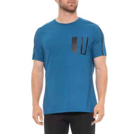 Industry Supply Co Definition T-Shirt - Short Sleeve (For Men) in Marina - Closeouts