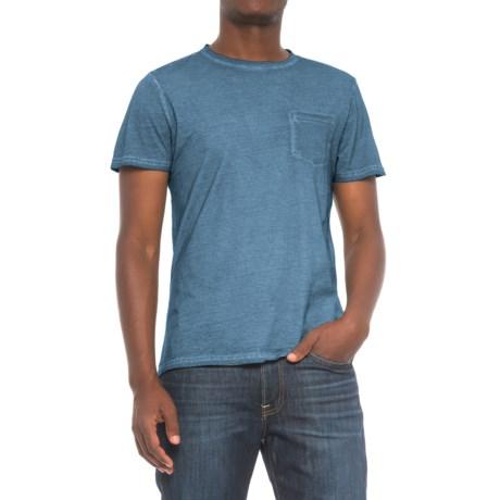 Industry Supply Co Pocket T-Shirt - Short Sleeve (For Men) in Blue Vintage