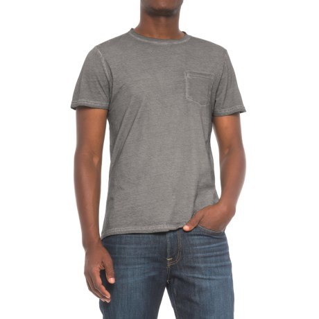 Industry Supply Co Pocket T-Shirt - Short Sleeve (For Men) in Grey Vintage
