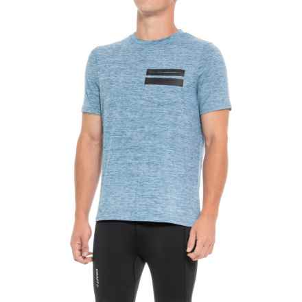 Industry Supply Co T-Shirt with Heat Seal Detail - Short Sleeve (For Men) in Blue Mix - Closeouts