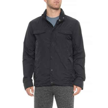 Industry Supply Co Wing Jacket - Full Zip (For Men) in Black - Closeouts
