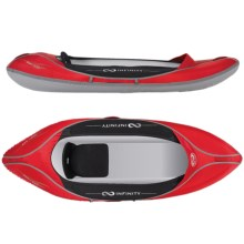 Infinity Orbit 245 Recreational Inflatable Kayak in Red - 2nds