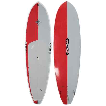 "Infinity Wide Aquatic Stand-Up Paddle Board - 10'4"" in Red/White/Light Grey - Closeouts"