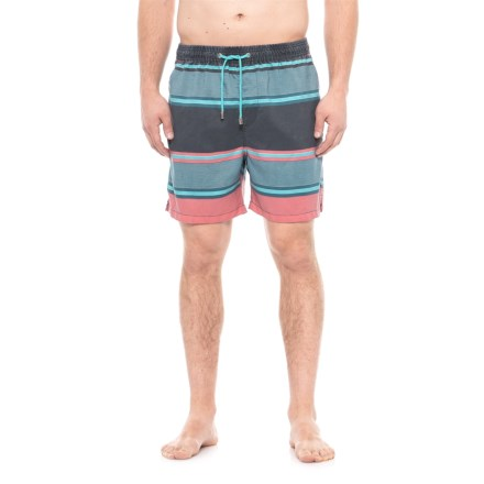 4b6d2a2f31 Ingear Stripe Swim Trunks - Built-In Brief (For Men) in Blue/