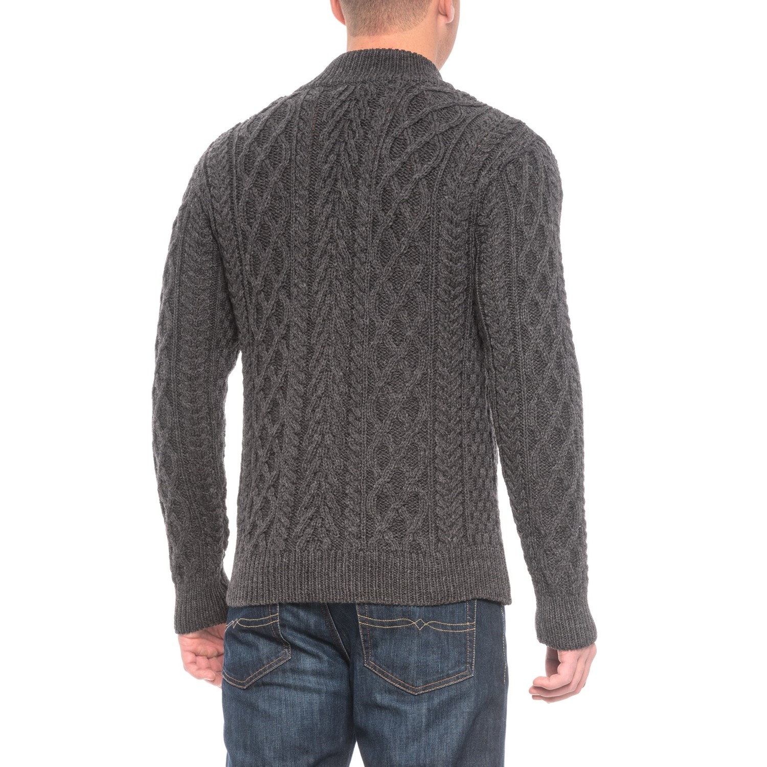 Inis crafts aran sweater for men save 61 for Inis crafts sweater price