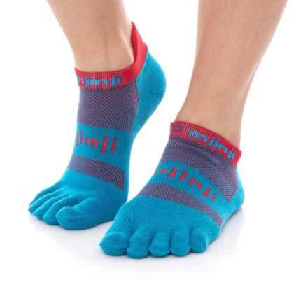 Injinji Run Toe Socks - Below the Ankle (For Women) in Superhero - Closeouts