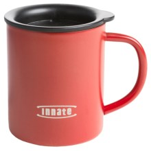 Innate Double Wall Camp Cup - 10 fl.oz. in Fire Red Matte - Closeouts