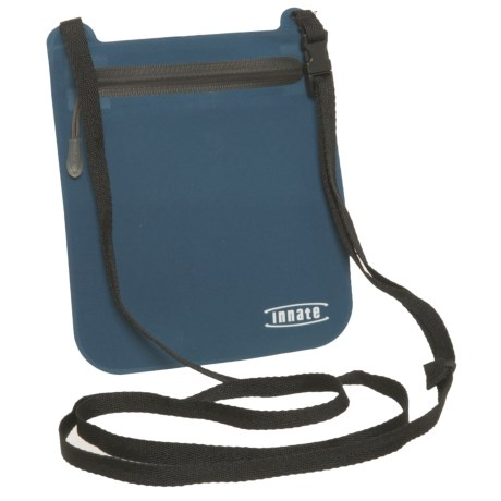 Innate Portal RFID-Blocking Neck Pouch in Blue