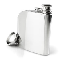 Innate Trad Stainless Steel Flask - 6 fl.oz. in Stainless - Closeouts