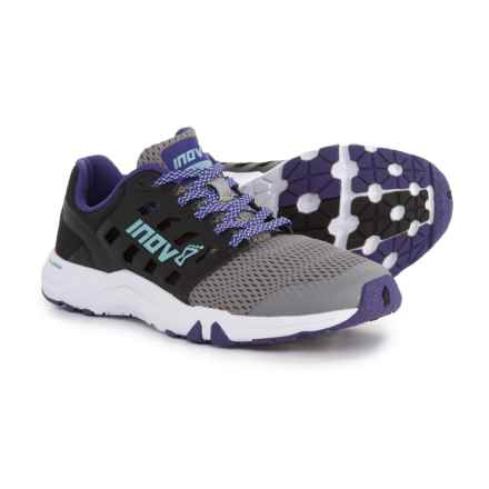 Inov-8 All Train 215 Cross Training Shoes (For Women) in Grey/Black/Purple - Closeouts